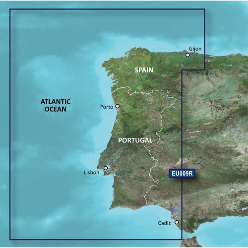 Garmin BlueChart g2 Vision HD - VEU009R - Portugal & NW Spain - microSD\/SD