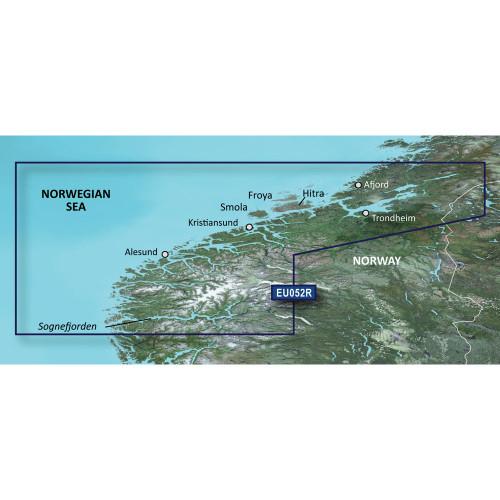 Garmin BlueChart g2 Vision HD - VEU052R - Sognefjorden - Svefjorden - microSD\/SD