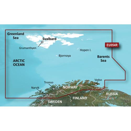 Garmin BlueChart g2 Vision HD - VEU054R - Vestfjd-Svalbard-Varanger - microSD\/SD