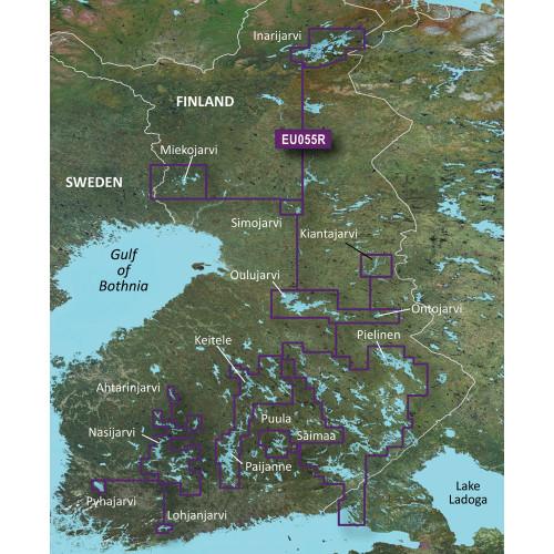 Garmin BlueChart g2 Vision HD - VEU055R - Finnish Lakes - microSD\/SD