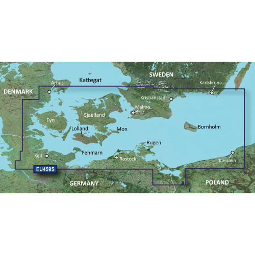 Garmin BlueChart g2 Vision HD - VEU459S - rhs-Kiel-Koszalin - microSD\/SD