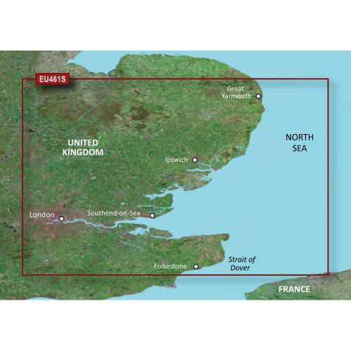 Garmin BlueChart g2 Vision HD - VEU461S - Thames Estuary - microSD\/SD