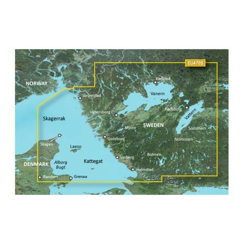 Garmin BlueChart g2 Vision HD - VEU470S - Stromstad to Halmstad - microSD\/SD