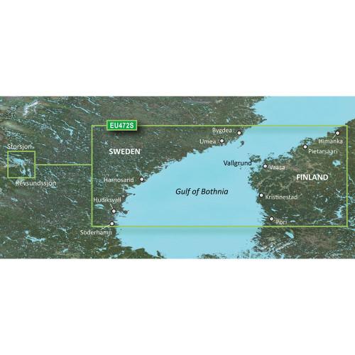 Garmin BlueChart g2 Vision HD - VEU472S - Gulf of Bothnia, Center - microSD\/SD