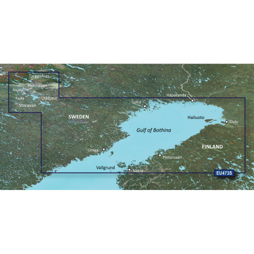 Garmin BlueChart g2 Vision HD - VEU473S - Gulf of Bothnia, North - microSD\/SD