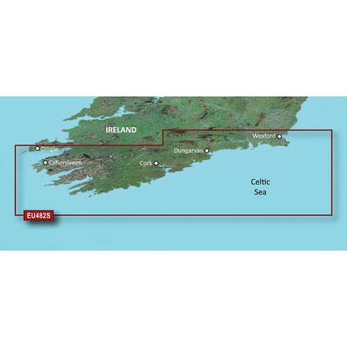 Garmin BlueChart g2 Vision HD - VEU482S - Wexford to Dingle Bay - microSD\/SD