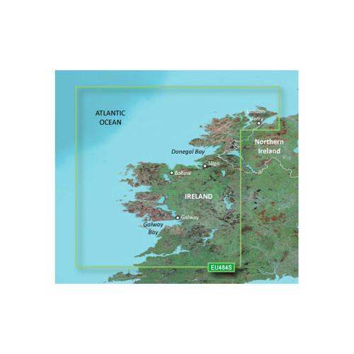 Garmin BlueChart g2 Vision HD - VEU484S - Ireland North-West - microSD\/SD