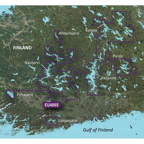 Garmin BlueChart g2 Vision HD - VEU488S - Keitele-Paijanne-Tampere - microSD\/SD
