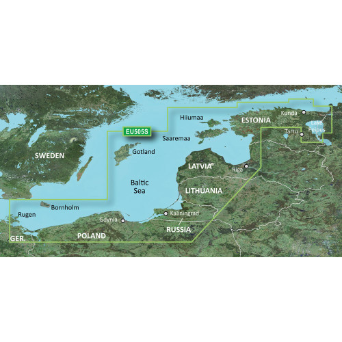 Garmin BlueChart g2 Vision HD - VEU505S - Baltic Sea, East Coast - microSD\/SD