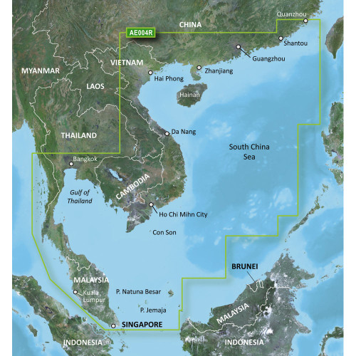 Garmin BlueChart g2 Vision HD - VAE004R - Hong Kong\/South China Sea - microSD\/SD