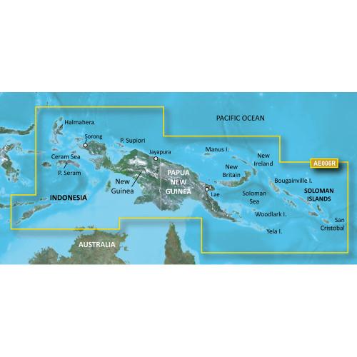 Garmin BlueChart g2 Vision HD - VAE006R - Timor Leste\/New Guinea - microSD\/SD