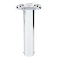 "Lee's 0 Degree Stainless Steel Flush Mount Rod Holder - 2.25"" O.D."
