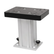 Cannon Aluminum Fixed Base Downrigger Pedestal - 6""