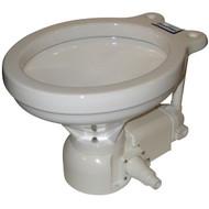 Raritan Sea Era Household Electric Toilet - Integral Sea Water - Straight & 90 Discharge - 12V