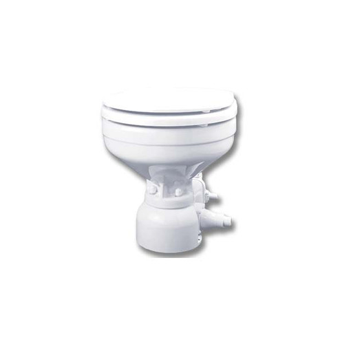 Raritan Sea Era Marine Size Electric Toilet - Integral Pump - Straight & 90 Discharge - 12V
