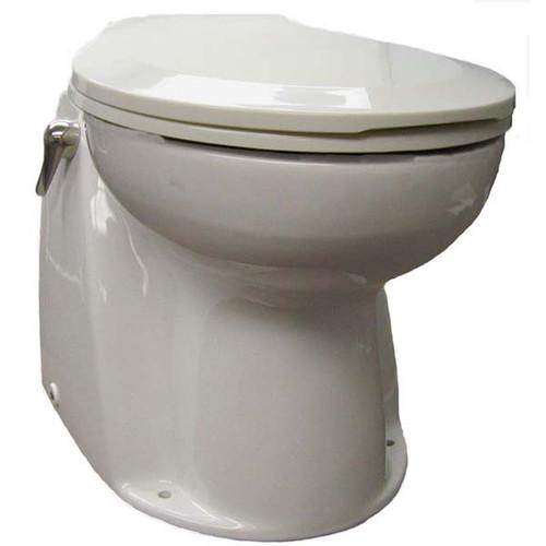 Raritan Atlantes Freedom - Household Style - White - Freshwater Solenoid - Toilet Control - 12V
