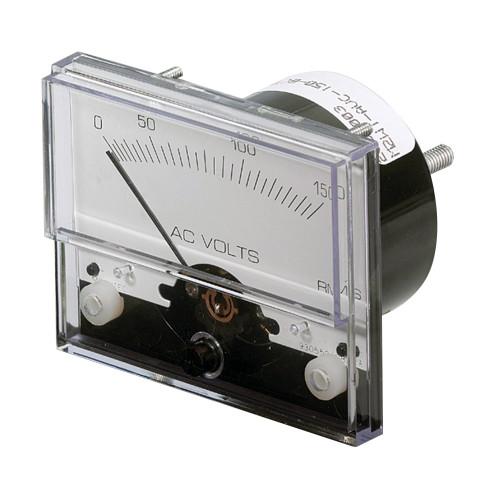 "Paneltronics Analog AC Voltmeter - 0-150VAC - 2-1\/2"""