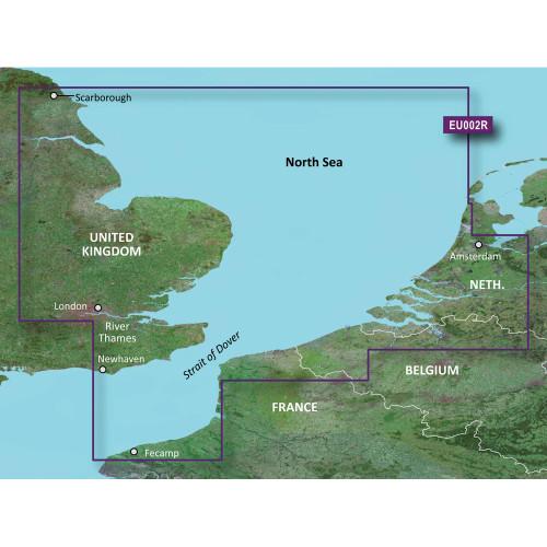 Garmin BlueChart g2 HD - HXEU002R - Dover to Amsterdam & England Southeast - microSD\/SD