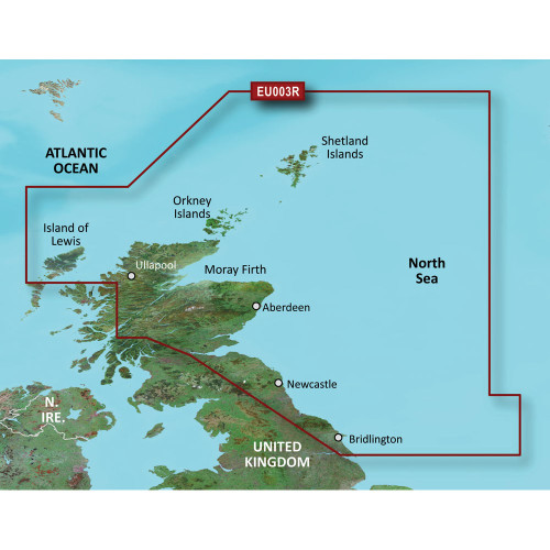 Garmin BlueChart g2 HD - HXEU003R - Great Britain Northeast Coast - microSD\/SD