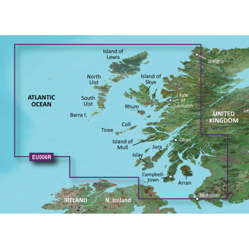 Garmin BlueChart g2 HD - HXEU006R - Scotland West Coast - microSD\/SD
