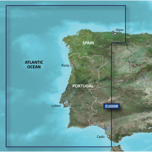 Garmin BlueChart g2 HD - HXEU009R - Portugal & Northwest Spain - microSD\/SD