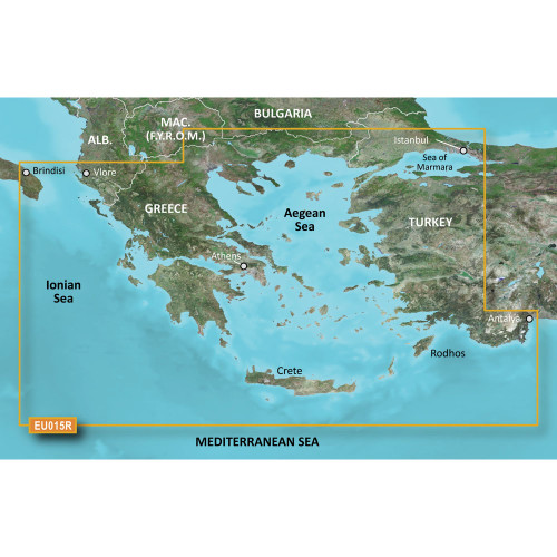 Garmin BlueChart g2 HD - HXEU015R Aegean Sea & Sea of Marmara - microSD\/SD