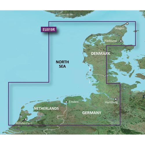 Garmin BlueChart g2 HD - HXEU019R - Alborg to Amsterdam - microSD\/SD
