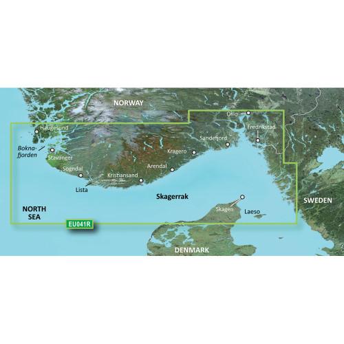 Garmin BlueChart g2 HD - HXEU041R - Oslo - Skagerak - Haugesund - microSD\/SD