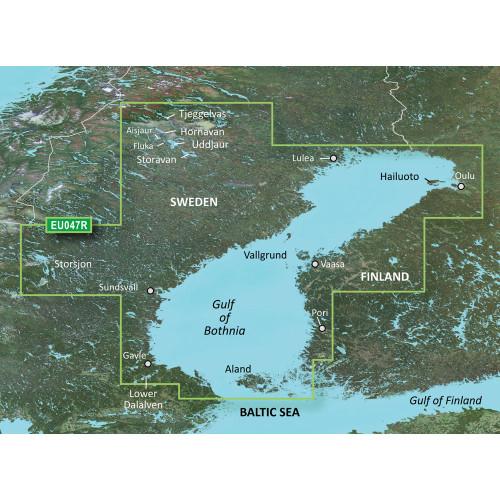 Garmin BlueChart g2 HD - HXEU047R - Gulf of Bothnia - Kalix to Grisslehamn - microSD\/SD