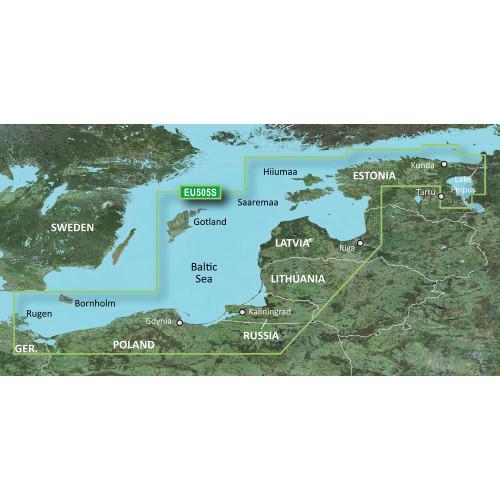 Garmin BlueChart g2 HD - HXEU505S - Baltic Sea East Coast - microSD\/SD