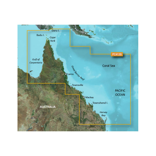 Garmin BlueChart g2 HD - HXPC413S - Mornington Island - Hervey Bay - microSD\/SD