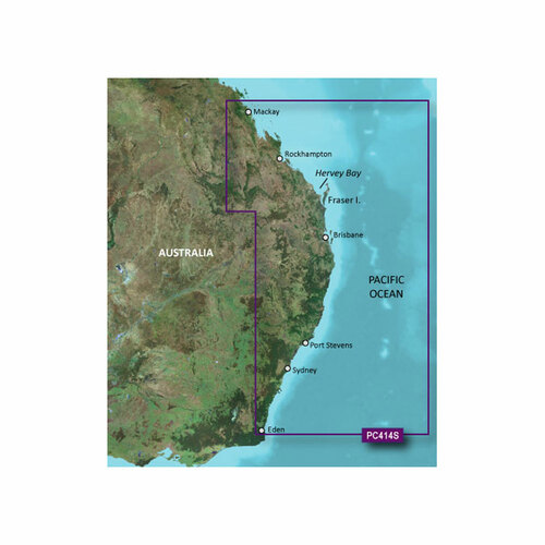 Garmin BlueChart g2 HD - HXPC414S - Mackay - Twofold Bay - microSD\/SD