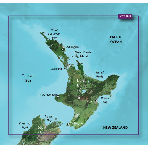 Garmin BlueChart g2 HD - HXPC416S - New Zealand North - microSD\/SD
