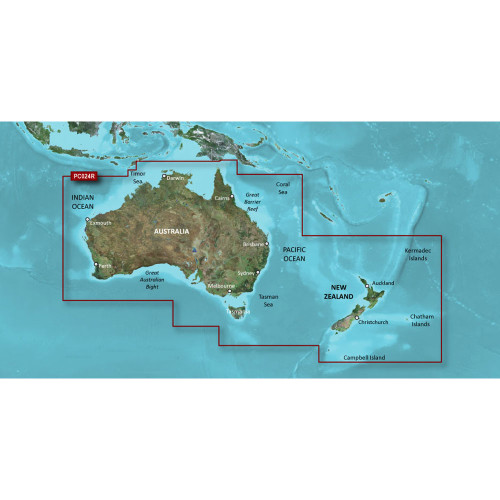 Garmin BlueChart g2 HD - HXPC024R - Australia & New Zealand - microSD\/SD