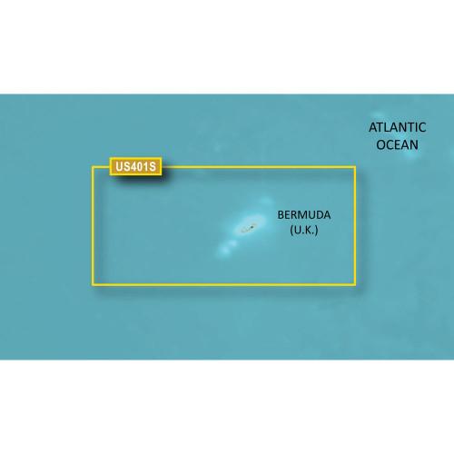 Garmin BlueChart g2 HD - HUS401S - Bermuda - microSD\/SD