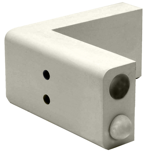 "Dock Edge Dockorner Premium Foam Profile Large 9"" Corner - Putty"