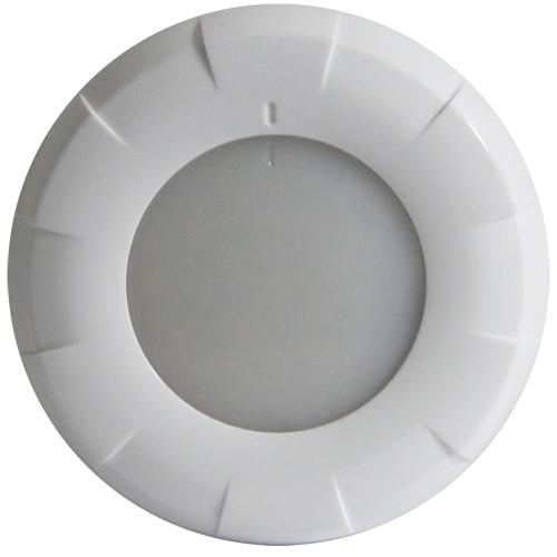 Lumitec Aurora LED Dome Light - White Finish - White Dimming
