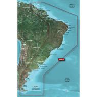 Garmin BlueChart g2 HD - HXSA001R - South America East Coast - microSD\/SD