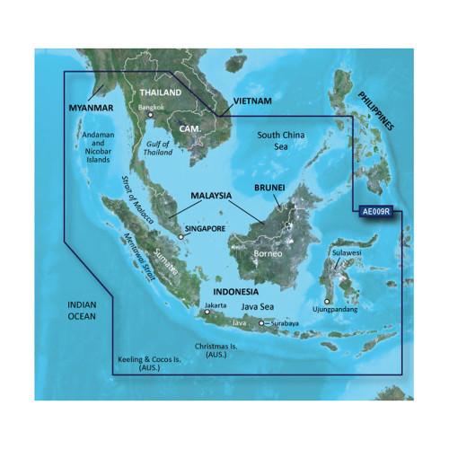 Garmin BlueChart g2 HD - HXAE009R - Singapore \/ Malaysia \/ Indonesia - microSD \/ SD