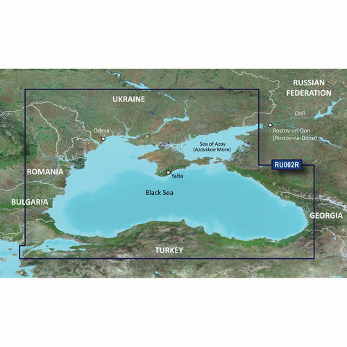 Garmin BlueChart g2 Vision HD - VEU063R - Black Sea & Azov Sea - microSD\/SD