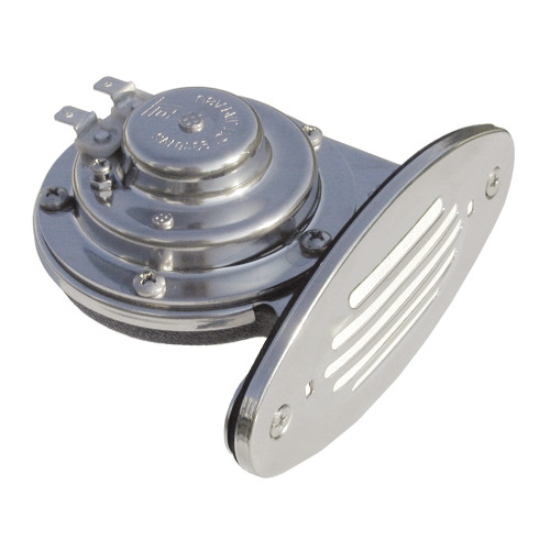 Ongaro Mini Single Drop-In Horn w\/SS Grill - High Pitch