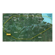 Garmin BlueChart g2 HD - HXSA009R - Amazon River - microSD\/SD