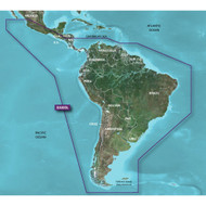 Garmin BlueChart g2 HD - HXSA500L - South America - microSD\/SD