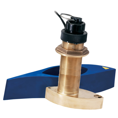 Garmin B744VL Long Stem Bronze Thru-Hull Depth\/Temp\/Speed w\/FB - 8 Pin