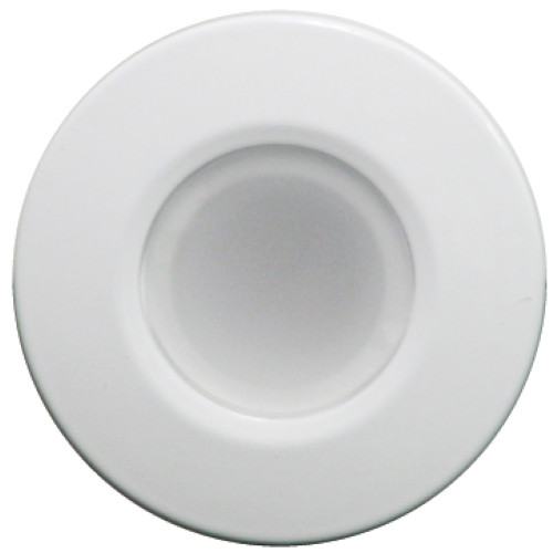 Lumitec Orbit - Flush Mount Down Light - White Finish - 2-Color Blue\/White Dimming