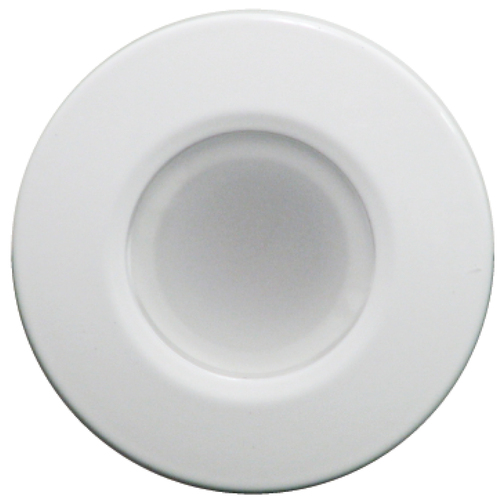 Lumitec Orbit - Flush Mount Down Light - White Finish - White Non Dimming