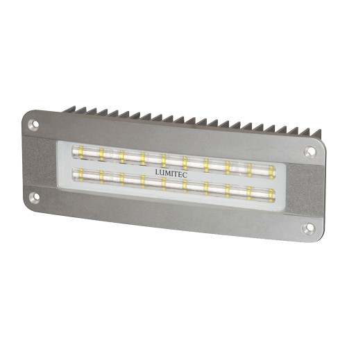 Lumitec Maxillume2 - High Power\/Flush Mount Flood Light - Brushed Finish - White Dimming