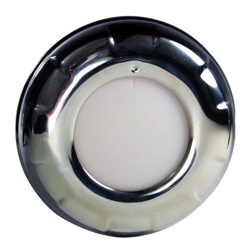 Lumitec Aurora - LED Dome Light - Polished SS Finish - White Dimming