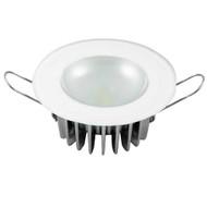 Lumitec Mirage - Flush Mount Down Light - Glass Finish\/No Bezel - Warm White Dimming