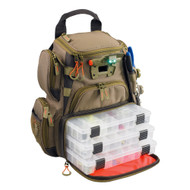 Wild River RECON Lighted Compact Tackle Backpack w\/4 PT3500 Trays